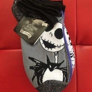 NWT Nightmare Before Christmas socks 6 pack